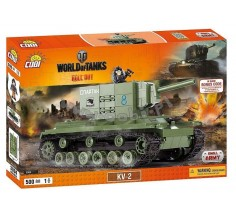 Конструктор World Of Tanks КВ-2, Cobi (COBI-3004)