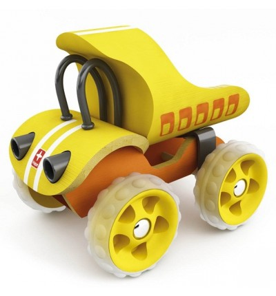 "Самоскид з бамбуку ""E-Truck Yellow"", Hape (897578yellow)"