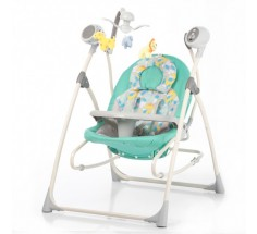 Колиска - качель Nanny 3в1 CRL-0005 Grey Dino, Carrello