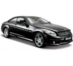 Автомобиль Mercedes-Benz CL63 AMG чёрный, Maisto (31297 met. black)