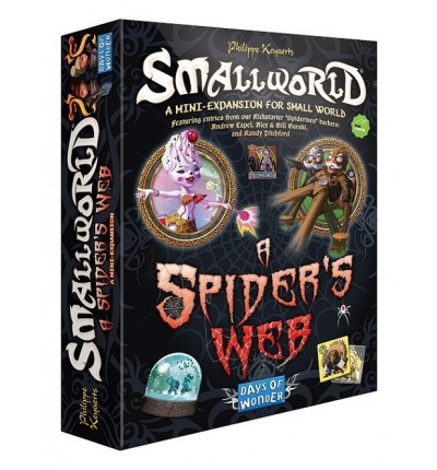 "Настольная игра ""Small World. A Spider's Web"" (на англ.), Days of Wonder (790021)"