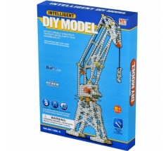 Конструктор металевий Inteligent DIY Model Підйомний кран, 629 ел., Same Toy (WC182AUt)