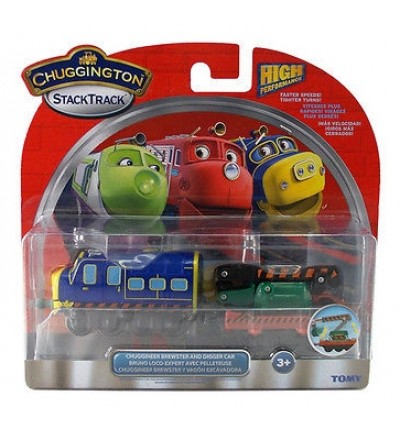 Паровозик Брюстер з причіпним екскаватором, Chuggington (LC54125)