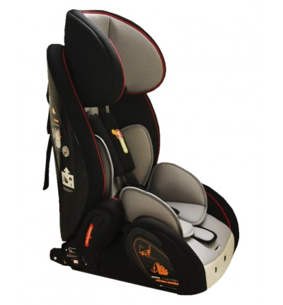 Автокресло Gallant (Isofix) - black grey - (1/2/3), BabyHit