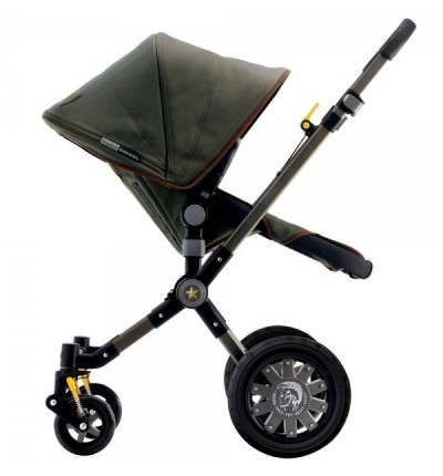 Коляска 2 в 1 Cameleon 3 Special Edition by Diesel Camouflage, зеленая, Bugaboo