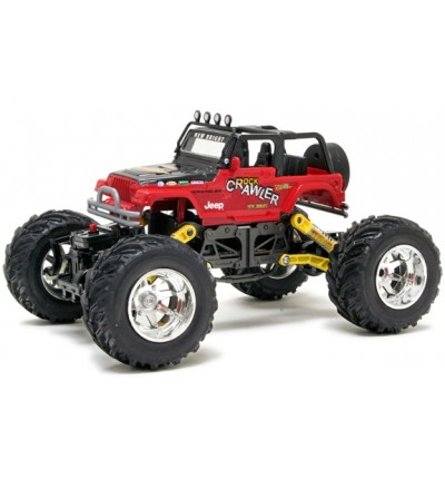 Позашляховик на р/к Jeep Wrangler Rock Crawler, New Bright (1800)
