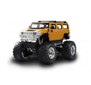 Джип микро р/у 1:43 Hummer, Great Wall Toys (GWT2008D-7 желтый)