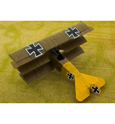 Збірна модель літака Fokker Dr.I WWI German fighter, Roden (RN601)