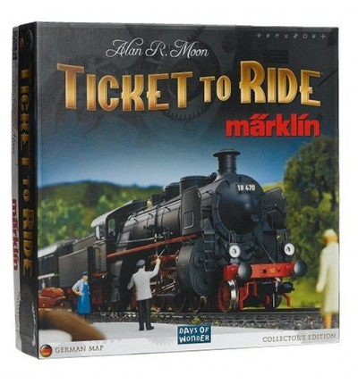 "Настольная игра ""Ticket to Ride Marklin Edition"" (на англ.), Days of Wonder (7205)"