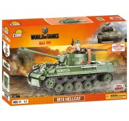 Конструктор World Of Tanks САУ М18 Хеллкет, Cobi (COBI-3006)