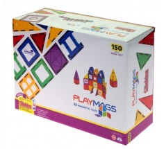 Магнітний конструктор 150 ел., Playmags (PM156)