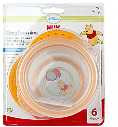 Миска с крышкой Disney Easy Learning, NUK (10255094)