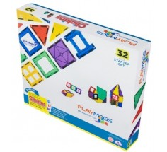 Магнітний конструктор 32 ел., Playmags (PM165)
