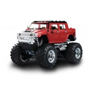 Джип микро р/у 1:43 Hummer, Great Wall Toys (GWT2008D-1 красный)