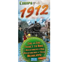 "Настільна гра ""Ticket to Ride Europe 1912"" (на англ.), Days of Wonder (720111)"