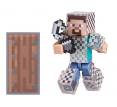 Ігрова фігурка Minecraft Steve in Chain Armor 7 см, (16493M)