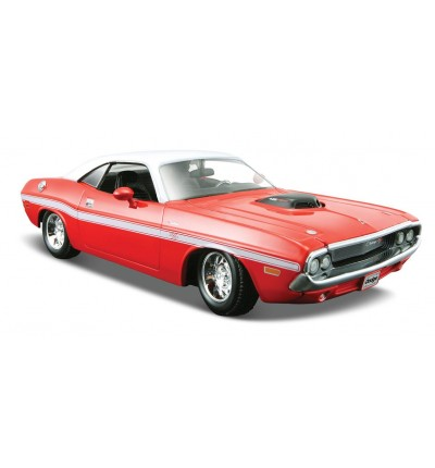 Автомобіль Dodge Challenger R/T Coupe 1970, Maisto (31263 red)