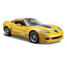 Автомобиль Chevrolet Corvette Z06 GT1 2009, Maisto (31203 yellow)