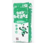Подгузники Dry Bears Fun&care 5 Junior (15-25 кг), 38 шт.