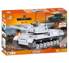 Конструктор World Of Tanks Леопард I, Cobi (COBI-3009)