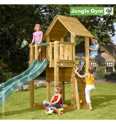 Вежа з гіркою Jungle Cubby, Jungle Gym (401_070)