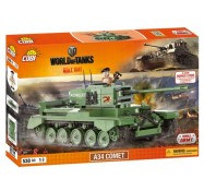 Конструктор Word Of Tanks A34 Комета, Cobi (COBI-3014)