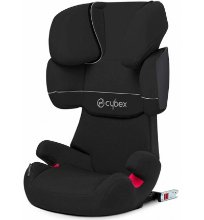 Автокресло Solution X-fix Pure Black, Cybex