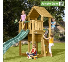 Башня с горкой Jungle Cubby, Jungle Gym (401_070)