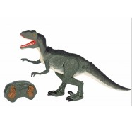 Динозавр Тиранозавр зелений Dinosaur World, зі світлом і звуком на д/у, Same Toy (RS6124Ut)