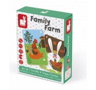 Игра Happy Families Ферма, Janod (J02756)