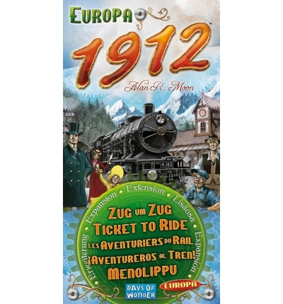 "Настольная игра ""Ticket to Ride Europe 1912"" (на англ.), Days of Wonder (720111)"
