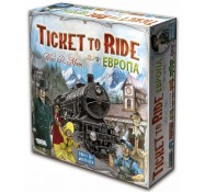 "Настольная игра-стратегия  ""Ticket to Ride: Европа"", Hobby World (1032)"