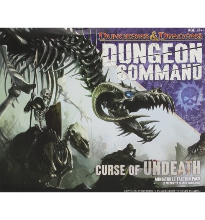 "Настільна гра ""D&D Dungeon Command: Curse of Undeath"", Wizards of the Coast (715191)"