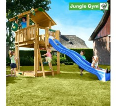 Башня с горкой Jungle Chalet, Jungle Gym (401_013)