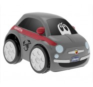Інерційна машинка Fiat 500 Abarth Turbo Touch, сіра, Chicco (07331.00)