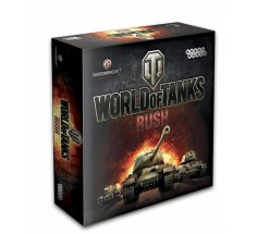 "Настольная игра-стратегия ""World of Tanks: Rush (2-е рус. изд.)"", Hobby World (1341)"