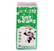 Подгузники Dry Bears Slim&Cool 5 junior (15-25 кг) 38  шт