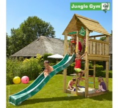Башня с горкой Jungle Cabin, Jungle Gym (401_060)