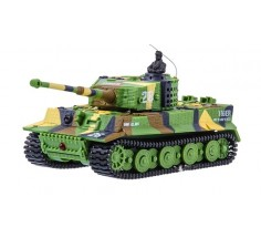 Танк мікро на р/к Tiger зі звуком, Great Wall Toys (GWT2117-1 хакі зелений)