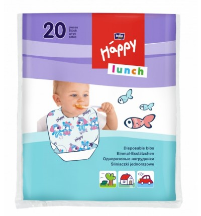 Одноразовые нагрудники Bella Baby Happy Lunch, 20 шт.
