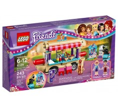 "Конструктор LEGO Friends ""Парк развлечений: фургон с хот-догами"" (41129)"