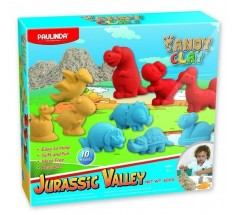 Пісок Sandy clay Jurassic Valley 600г, Paulinda (PL-140019)