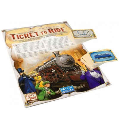 "Настольная игра ""Ticket to Ride"" (на англ.), Days of Wonder (7201D)"