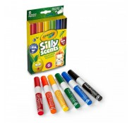 Фломастери ароматизовані Silly Scents, 6 шт, Crayola (58-8197)