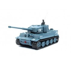 Танк микро на р/у Tiger со звуком, Great Wall Toys (GWT2117-4 серый)