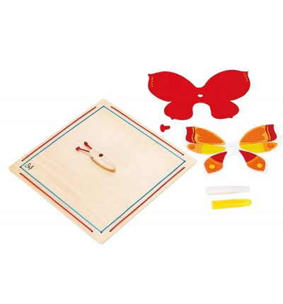 Мозаїка з бамбука Beautiful Butterfly, Hape (E5121)