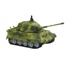 Танк мікро на р/к King Tiger зі звуком, Great Wall Toys (GWT2203-1 зелений)