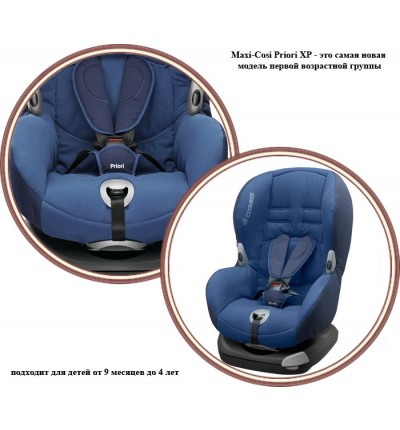 Автокресло Priori XP (цвет Blue Night), Maxi-Cosi (64106120)