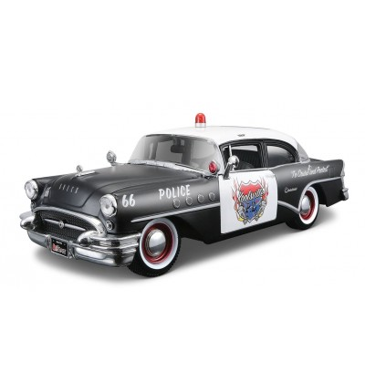 Автомобіль Buick Century (Rescue Force) 1955, Maisto (31341 black)